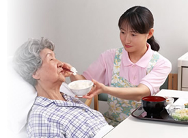 入院患者様の日常生活をサポートしていただける、ボランティアを募集しています。